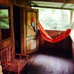 Relax in hammocks