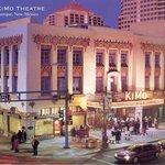 The historic KiMo Theatre