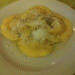 Fagottini a formaggio e polenta