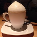 Cuppoccino with Santori Wiskey: as good as it look.