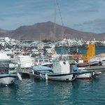 Décor volcanique typique de Lanzarote