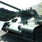 The iconic T34 (model 1941)
