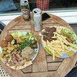 platos para dos personas