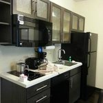 Candlewood suites the nice kitchen