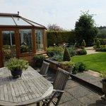 Idyllic back garden
