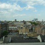 Vistas desde el noveno piso