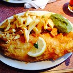 This is by far the best fish and chips we have had for a long time great service and plenty of i