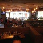 Restaurant quite empty at 6.15pm,