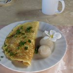 Omlette Lychee and Plumeria