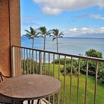 Royal Kahana Molokai Suite ocean view from lanai