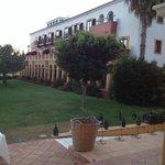 Vista desde la terraza del restaurante