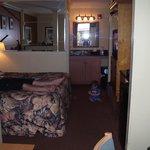 Habitacion de 4 plazas con cama King y sillon cama de 2 plazas