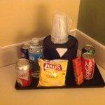 In-Room Snacks