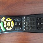 Remote control full of dust, adn sticky