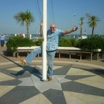 pole dancing at RNLI College