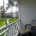 Balcón de una habitación estándar