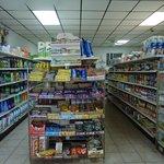 Convenient food-store on premises