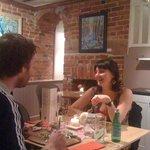 Dinner at Leonora's
