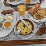 Petit-déjeuner berbère à l'Anice