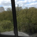 View from Side window looking across Russell Square