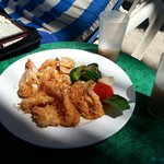 CoConut Shrimp on the beach
