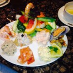 Seafood salad 😃