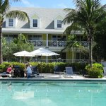 Valentines pool and the Abaco building.