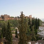 A view from the balcony - The Alhambra