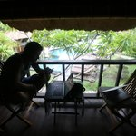 Nanuks Lembongan Bungalows - Tamarind Beach - Bali - Indonesia - Wandervibes - balconey deck