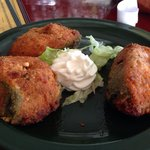 Mu stuffed jalepeneos, stuffed with chicken, $7, yes, just seven....