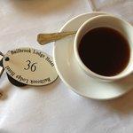 Breakfast included coffee or tea.