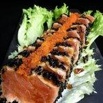 salmon wasabi