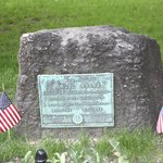 Samuel Adams' Grave in the Old Granary Burying Ground
