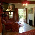 Bungalow Suite, Sicht vom Bett aus