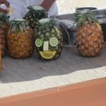 Pinapple carving