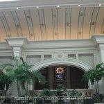 Entrance of hotel/casino