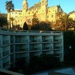 Vista desde la habitación: zona posterior del Casino