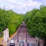 Constitution Hill seen from Wellington Arch, 20 May 2014