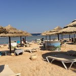 Fantastic hotel beach