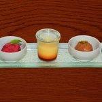 Tris di dessert - Ristorante Costa Azzurra
