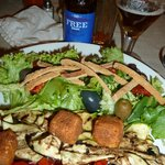 Ziegenkäse-Salat