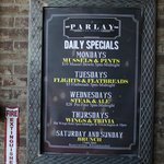 Food Specials Monday through Thursday from 5pm-Midnight