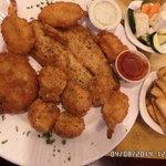 Fried Seafood Combo