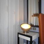 Luminária com design contemporâneo