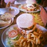 King kond burger and sides :)