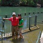 Yardenit Baptismal site on the Jordan River