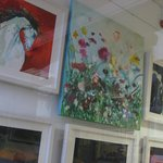 Gallery - with a new artist every month.