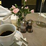 Um café forte e delicioso !