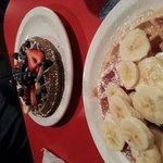 Banana Nutella & Buckwheat w/ Berries