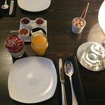 Delicious Moroccan breakfast